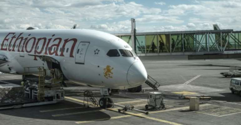 Ethiopian Airlines said people had used altered images to tarnish its brand.  By EDUARDO SOTERAS (AFP/File)