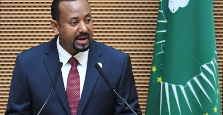 Ethiopian Prime Minister Abiy Ahmed has sought to open his country to foreign investment since assuming office last year.  By Monirul BHUIYAN (AFP/File)