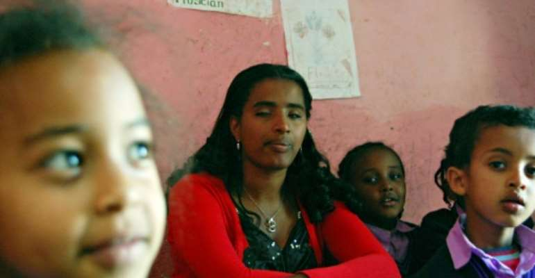 Ethiopian rights activist Yetnebersh Nigussie's tireless efforts to work for the country's millions of disabled have been recognised with the Right Livelihood Award.  By AARON MAASCHO (AFP/File)