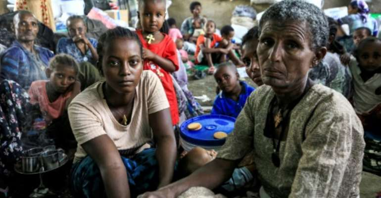 Ethiopians from the Qemant ethnic group have fled to neighbouring Sudan after violence in the Tigray region spilled over into their homeland.  By ASHRAF SHAZLY (AFP)