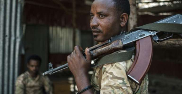 Ethiopia's government says its forces have 'completed' their assault on Tigrayan capital Mekele.  By EDUARDO SOTERAS (AFP/File)