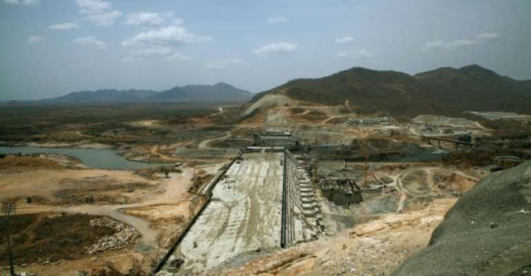 Ethiopia's Grand Renaissance Dam is set to be Africa's largest when it is completed.  By ZACHARIAS ABUBEKER (AFP/File)
