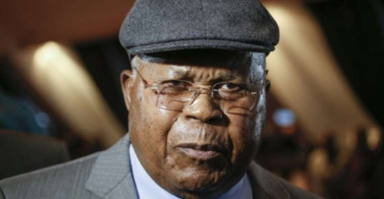 Etienne Tshisekedi was an opposition figurehead for decades.  By THIERRY ROGE (Belga/AFP)