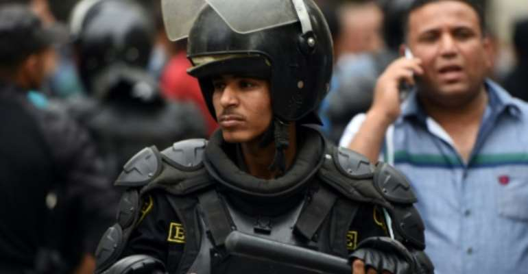 Amnesty said 12 out of 28 EU countries had remained among the main suppliers of arms and policing equipment to Egypt.  By Mohamed el-Shahed (AFP/File)