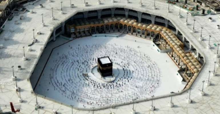 Every able-bodied Muslim is obliged to perform the hajj pilgramage to the Kaaba at least once.  By STR (AFP/File)