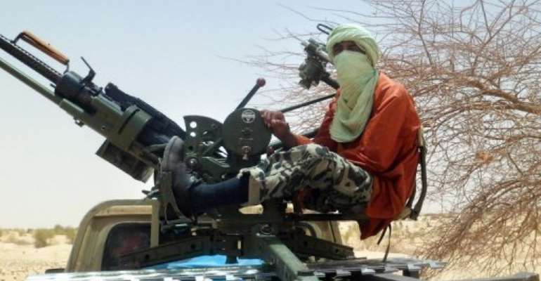 Tuareg rebels fought alongside Ansar Dine in January to conquer the entire northern half of Mali.  By Romaric Ollo Hien (AFP/File)