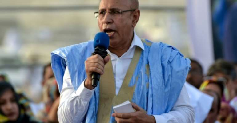 Ex-general Mohamed Ould Ghazouani will on August 2 officially take over the presidency from close ally Mohamed Ould Abdel Aziz..  By SIA KAMBOU (AFP/File)