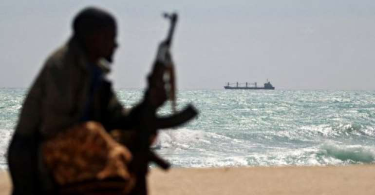 Dozens of ships, mainly merchant vessels, have been seized by gangs off Somalia's coastline in recent years.  By Mohamed Dahir (AFP/File)
