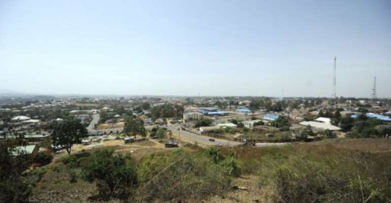 A general view of Jos.  By Tony Karumba (AFP/File)