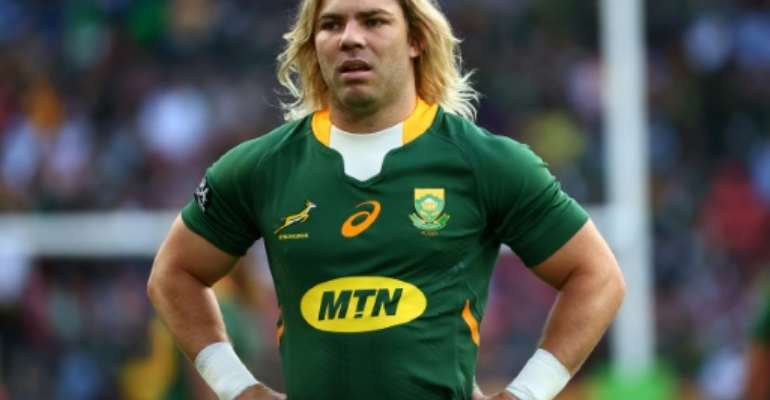 Faf de Klerk has talked of South Africa needing to find their DNA.  By Patrick HAMILTON (AFP)