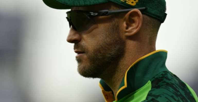 Faf du Plessis's South Africa side are almost certain to miss out on the World Cup semi-finals.  By Oli SCARFF (AFP)