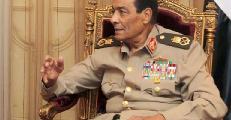 Field Marshal Mohammed Hussein Tantawi, who died at the age of 85, headed the military junta that ruled Egypt in the aftermath of Hosni Mubarak's ouster before being sacked by the country's first freely elected leader.  By YOUSEF ALLAN (PETRA News Agency/AFP/File)