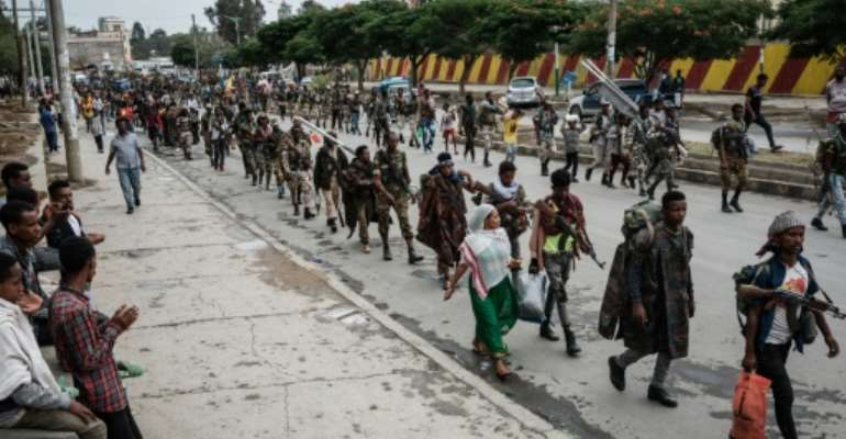 Fighting broke out in Ethiopia's northern Tigray region last November.  By Yasuyoshi Chiba (AFP/File)