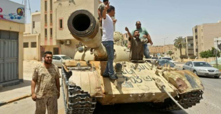 Fighting has ravaged Libya since the toppling of Moamer Kadhafi in 2011.  By Mahmud TURKIA (AFP/File)