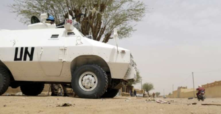 More than 12,000 soldiers are serving with the UN MINUSMA peacekeeping mission to Mali.  By Kenzo Tribouillard (AFP/File)