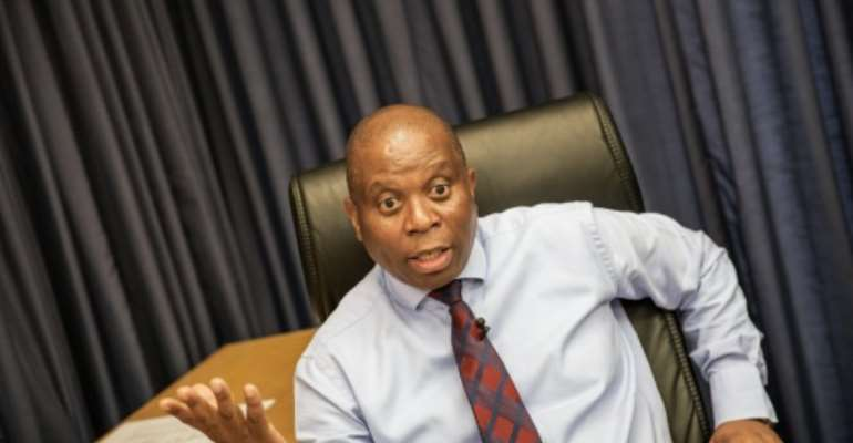 For the first time since apartheid Johannesburg's mayor, Herman Mashaba, is not from the ANC, but from the pro-business Democratic Alliance (DA) opposition party.  By Gianluigi Guercia (AFP)