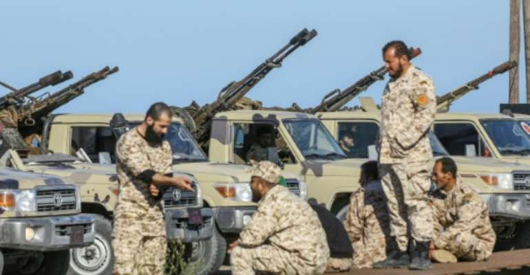 Forces loyal to Libya's UN-recognised unity government say they have arrested a number of jihadists linked to Al-Qaeda.  By Mahmud TURKIA (AFP)