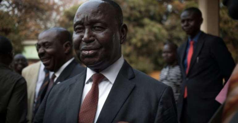 Former Central African Republic president Francois Bozize.  By FLORENT VERGNES (AFP)