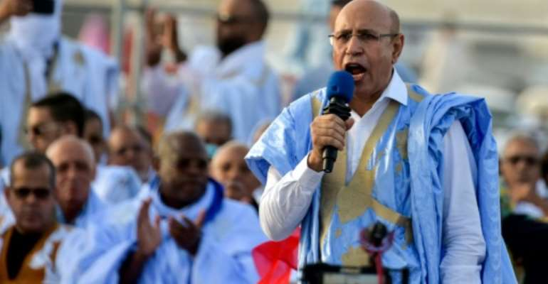 Former general Mohamed Ould Ghazouani has been confirmed as the winner of Mauritania's presidental election.  By SIA KAMBOU (AFP/File)