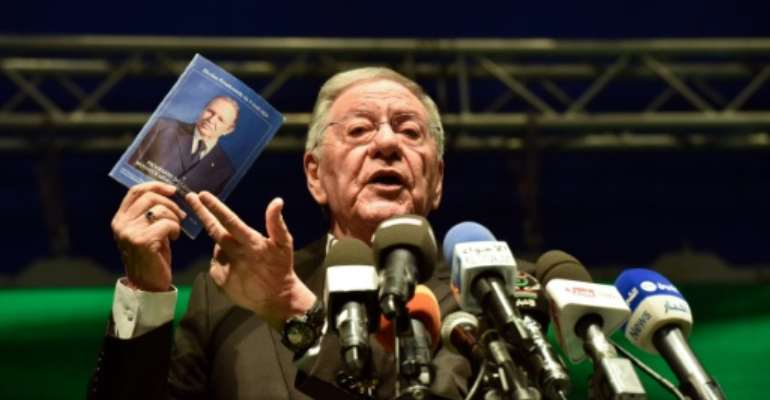 Former head of Algeria's ex-ruling party Djamel Ould Abbes is suspected of corruption.  By RYAD KRAMDI (AFP/File)