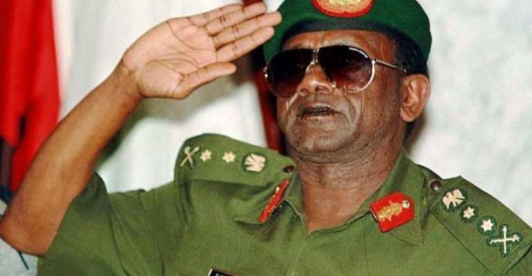 Former military dictator Sani Abacha is believed to have looted hundreds of millions of dollars from Nigeria during his rule from 1993 until his death in 1998.  By ISSOUF SANOGO (AFP/File)