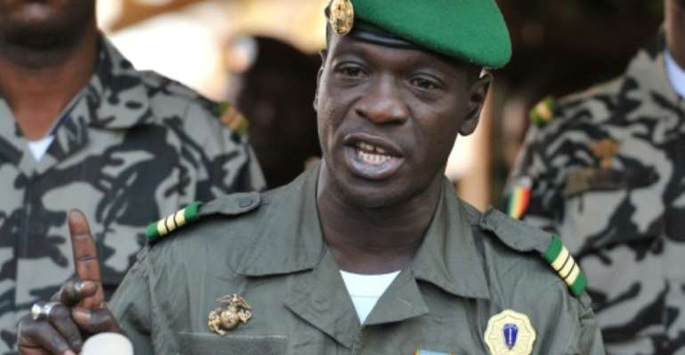 Former military junta leader Amadou Sanogo had staged a coup in 2012.  By Issouf SANOGO (AFP/File)