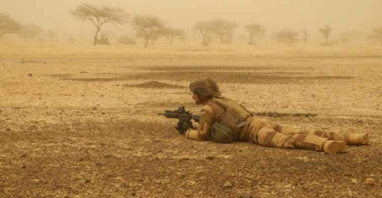 France has deployed 4,500 troops in Mali, Burkina Faso, Niger and Chad in a mission codenamed Barkhane to help local forces flush out jihadists.  By Daphné BENOIT (AFP/File)