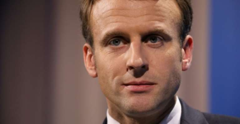 France's President Emmanuel Macron will stress that he wants a partnership of equals with Africa, based on education and entrepreneurship..  By LUDOVIC MARIN (AFP/File)