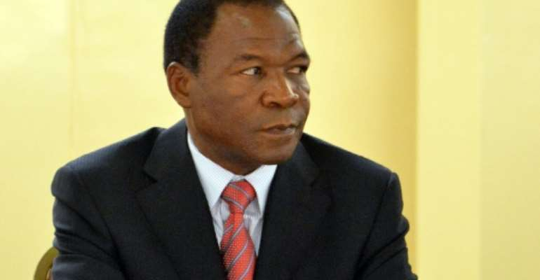 Francois Compaore is the brother of Burkina Faso's deposed former president.  By Ahmed OUOBA (AFP/File)