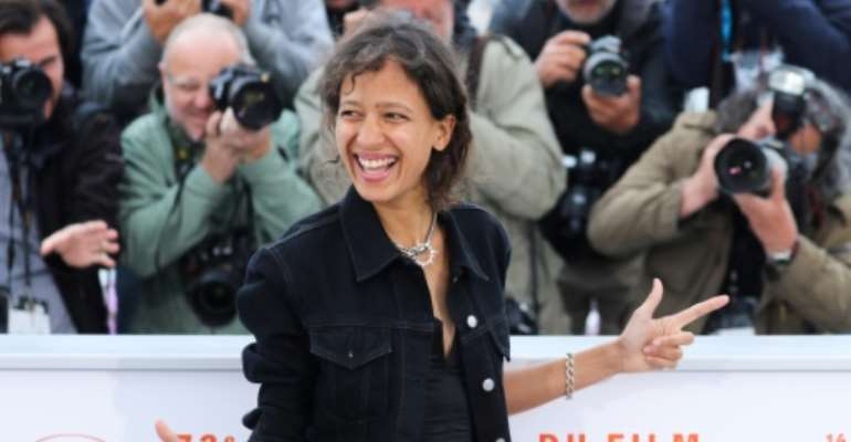 French actress and film director Mati Diop was the first black African woman to compete for Cannes's top prize with her film