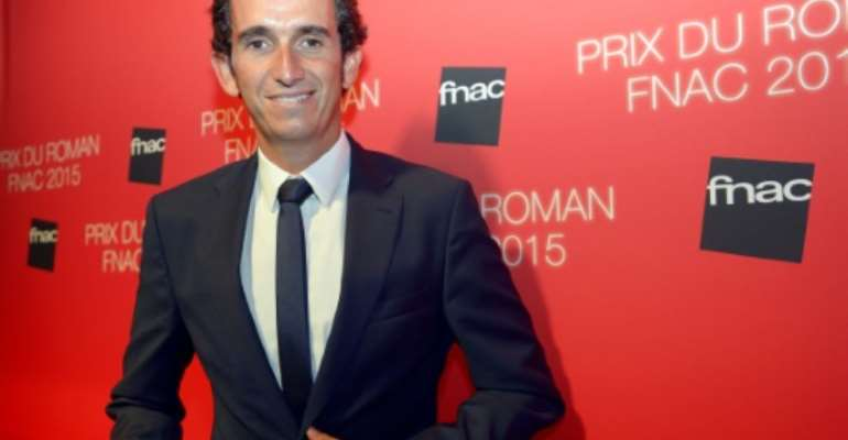 Chairman and CEO of FNAC, a major retailor of cultural, leisure and technological products, Alexandre Bompard poses on September 1, 2015 in Paris.  By Bertrand Guay (AFP/File)