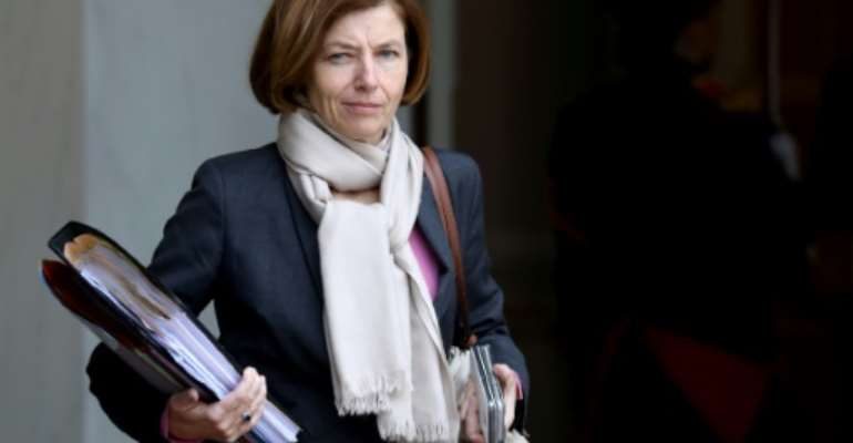 French Defence Minister Florence Parly looked to reassure Mali of the support of European forces after a devastating jihadist attack that left dozens of soldiers dead.  By ludovic MARIN (AFP/File)