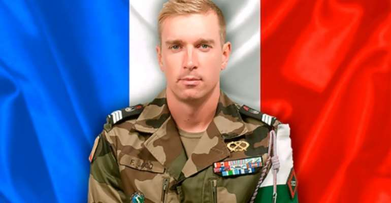 French soldier Fabien Jacq died overnight on November 5, 2016 from injuries sustained in a mine blast in northern Mali.  By  (SIRPA/AFP)