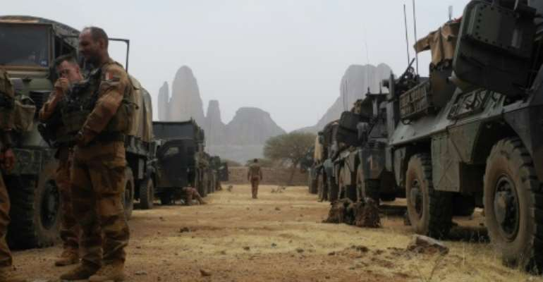 French soldiers are operating in Mali since forcing jihadists out of the north in 2013.  By Daphné BENOIT (AFP)