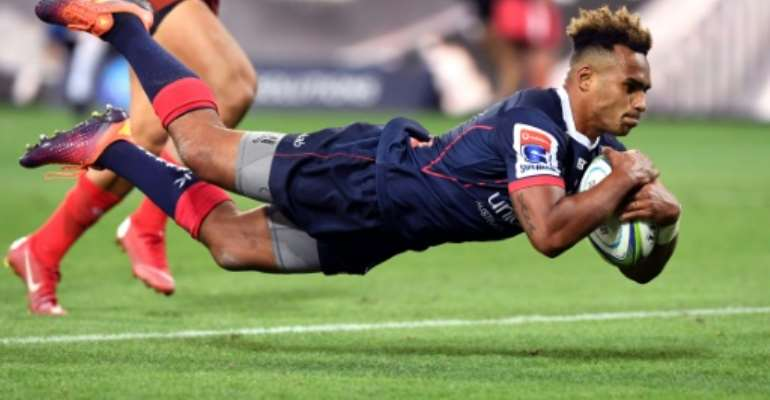 Fully recovered: Melbourne Rebels' Will Genia has been cleared to play in the crucial clash with the NSW Waratahs on Friday.  By WILLIAM WEST (AFP)