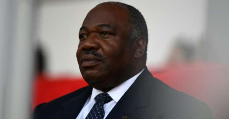 Gabonese President Ali Bongo took over from his father, Omar, who died in Barcelona eight years ago.  By GABRIEL BOUYS (AFP/File)