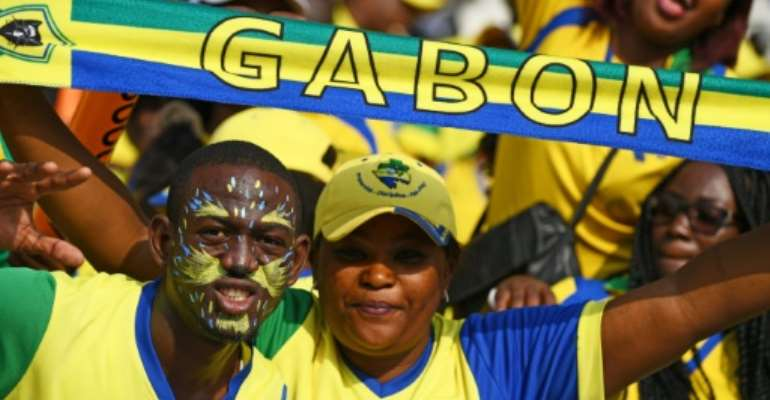 Gabon's exit from the Africa Cup of Nations means a return to economic and social reality.  By GABRIEL BOUYS (AFP/File)