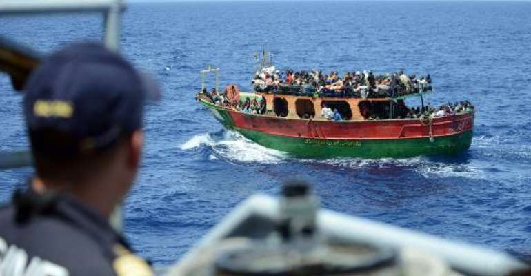 Gambian migrants undeterred by horrors of Med crossings