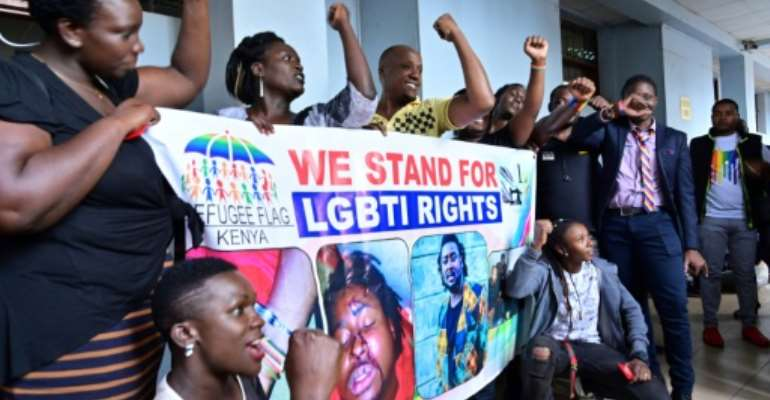 Gay rights organisations had hoped Kenya would follow in the footsteps of African nations like Angola, or those further afield like India.  By TONY KARUMBA (AFP)