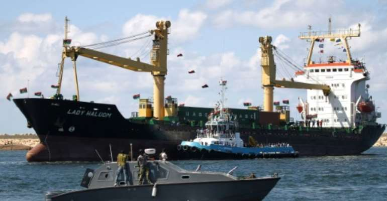 General cargo vessel the