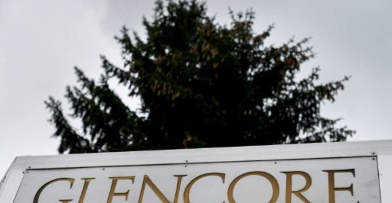 Glencore says copper mining has been hit by a slump in prices and the fallout of the coronavirus pandemic.  By FABRICE COFFRINI (AFP)