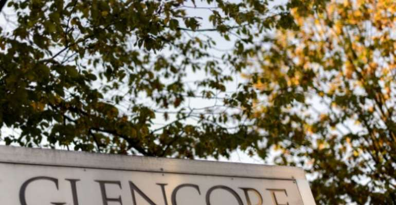 Glencore, which has lost 57 percent of its market value this year, is grappling with tumbling commodity prices as China's economic slowdown weighs on demand and sparks havoc across markets.  By Fabrice Coffrini (AFP/File)