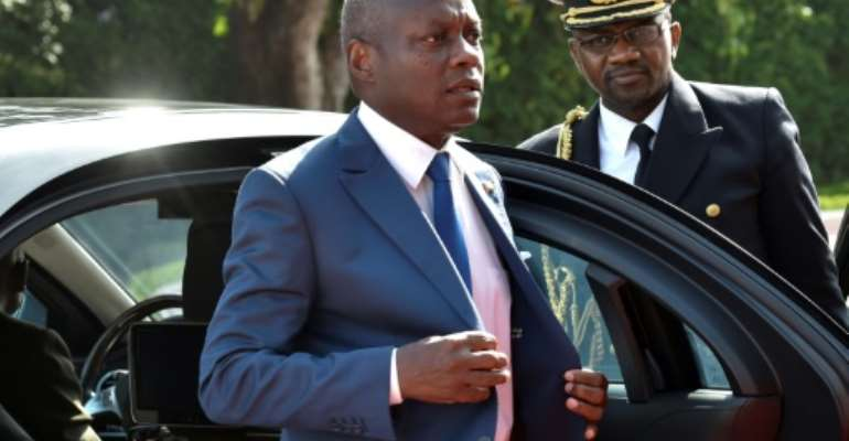 Guinea Bissau's President President Jose Mario Vaz appointed a series of prime ministers, but none has garnered sufficient support to achieve a parliamentary majority.  By ISSOUF SANOGO (AFP/File)