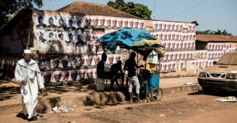 Guinea-Bissau has known little but military coups and political assassinations but the election campaign was mostly peaceful.  By JOHN WESSELS (AFP)