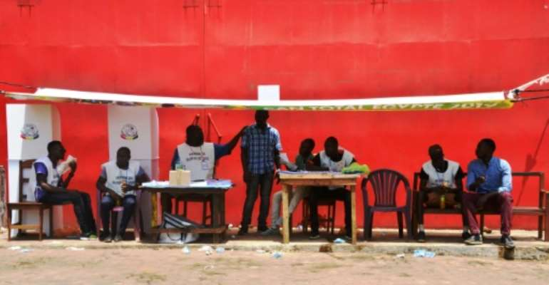 Guinean voted overwhemingly in favour of the reforms, according to electoral officials.  By CELLOU BINANI (AFP)
