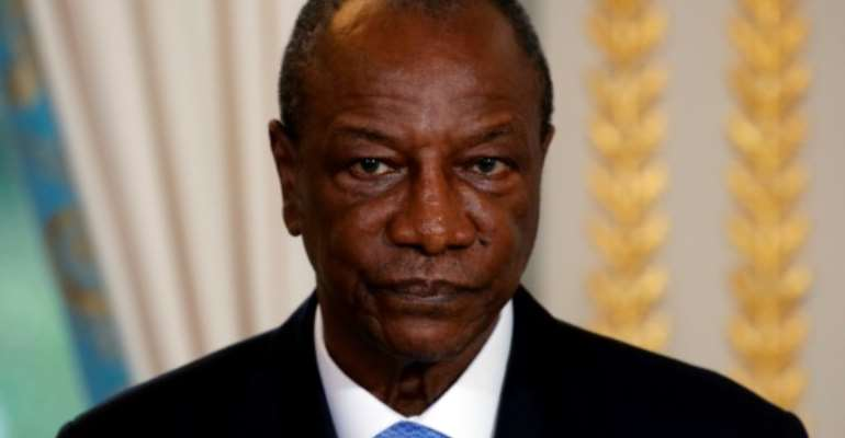 Guinea's President Alpha Conde will install ministers