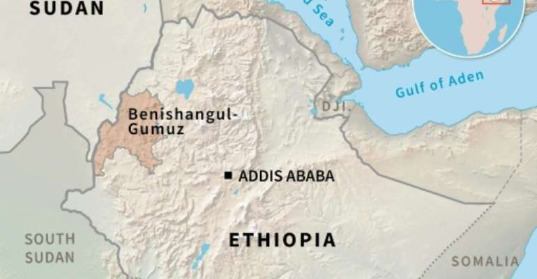 Gunmen kill over 100 in Ethiopia.  By Simon MALFATTO (AFP)