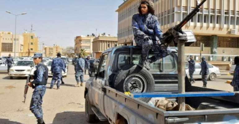 Haftar's forces have seized much of Libya's south including the city of Sebha since January.  By - (AFP/File)