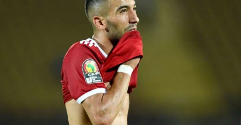Hakim Ziyech was left to rue a missed penalty in injury time.  By OZAN KOSE (AFP)