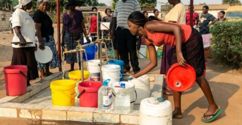 Harare authorities have long struggled to ensure constant water supplies to residents.  By Jekesai NJIKIZANA (AFP/File)